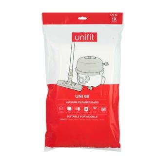Unifit 68 Numatic Henry Vacuum Bags 10pk  - Godfreys