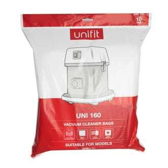 Unifit 160 Pullman AS5 Vacuum Bags 10pk