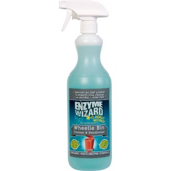 Enzyme Wizard Wheelie Bin Cleaner & Deodoriser - 1L  - Godfreys