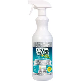 Enzyme Wizard Glass & Stainless Steel Cleaner - 1L  - Godfreys
