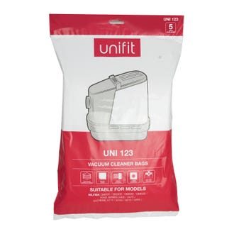 Unifit 123 Nilfisk Vacuum Bags 5pk  - Godfreys