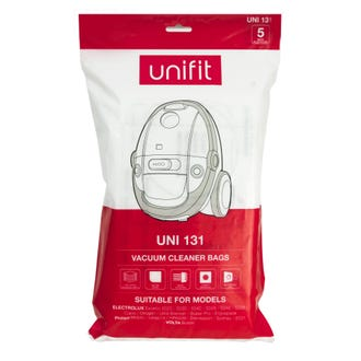 Unifit 131 Electrolux & Philips Vacuum Bags 5pk  - Godfreys