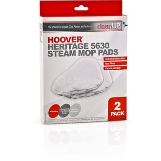 Clean Up Hoover 5630 Steam Mop Pads 2pk  - Godfreys