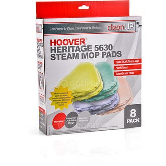 Clean Up 5630 Steam Mop Pads 8pk  - Godfreys