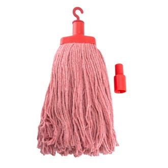 Pullman Mop Head  (400gm) - Red  - Godfreys