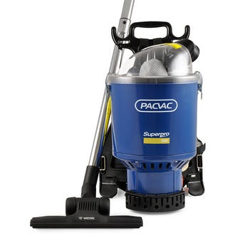 Pacvac Superpro 700 Commercial Backpack Vacuum  - Godfreys