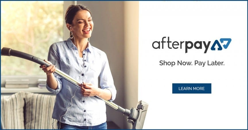AfterPay now at Godfreys, Buy now Pay later
