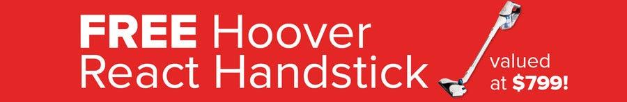 FREE HOOVER REACT HANDSTICK OFFER