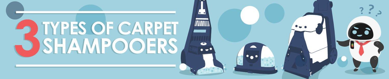 Types of Carpet Shampooers
