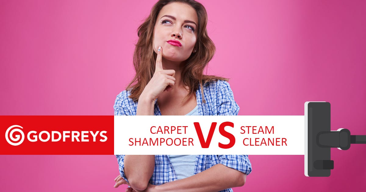 Carpet shampooer vs steam cleaner
