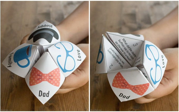 Joke teller makes a simple Father's Day gift