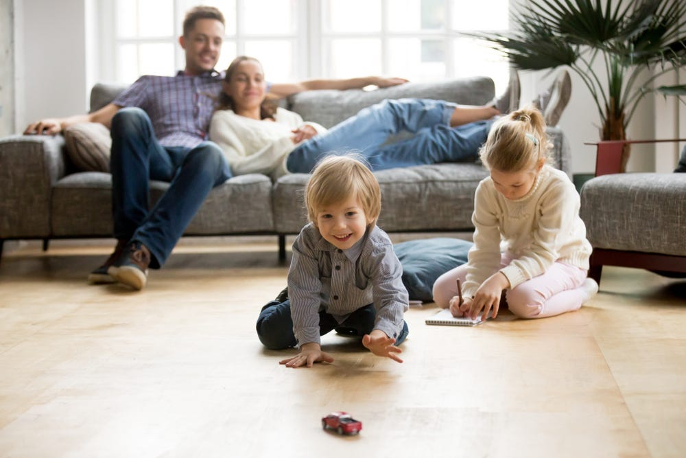 Less vacuuming more family time