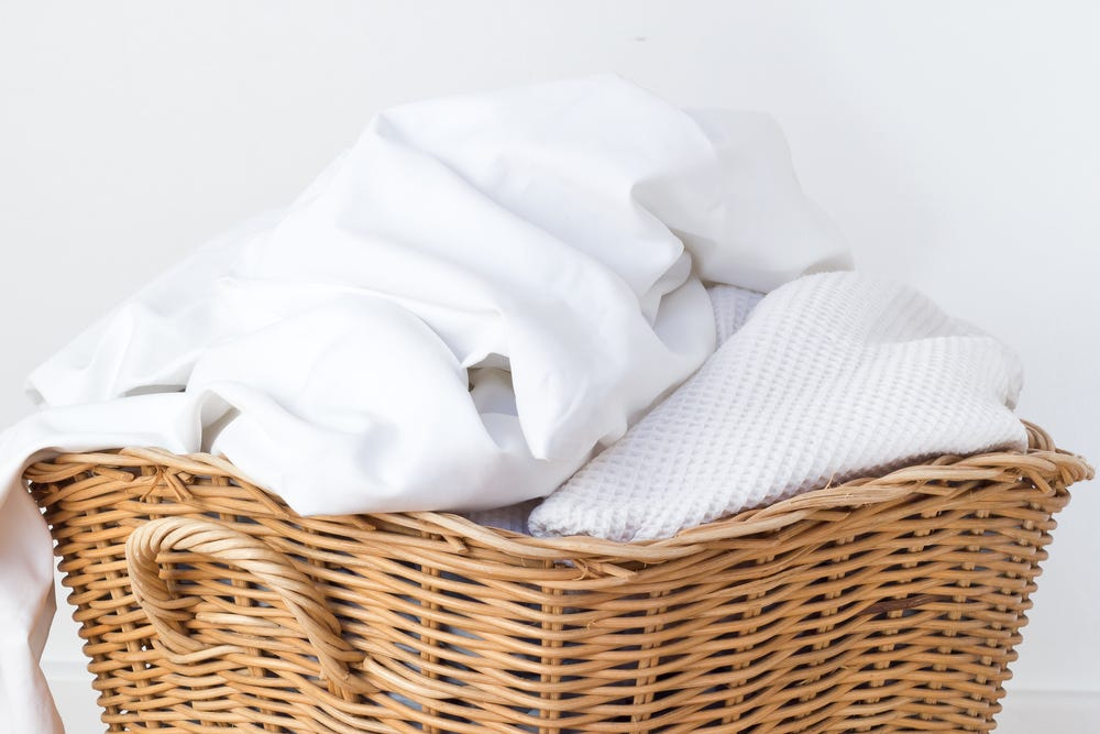 Clean sheets and towels prevent germs and bacteria