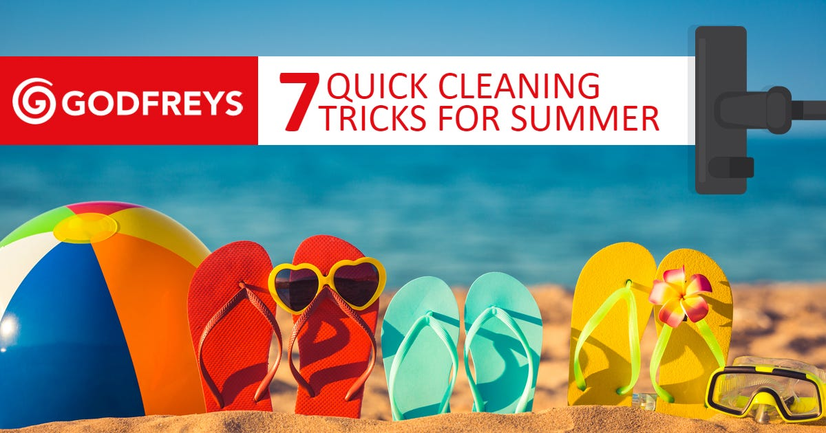Summer Cleaning Tricks