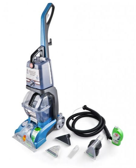 The Hoover carpet shampooer